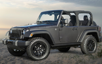 JEEP  WRANGLER  (CLOSED or OPEN)